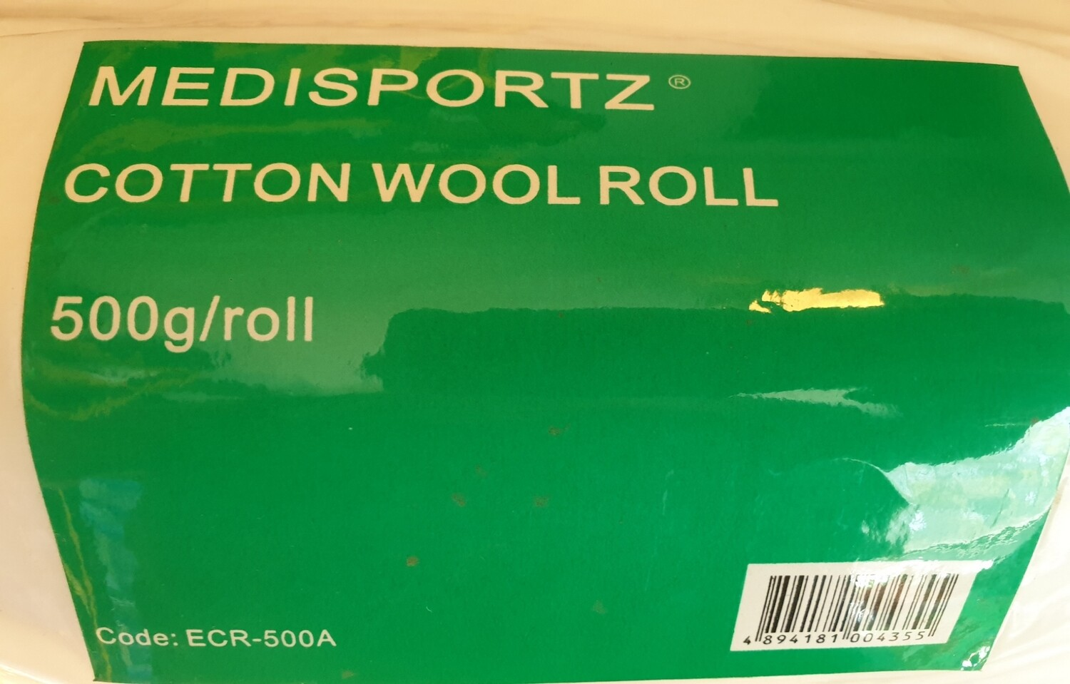 MediSportz Cotton Wool Roll 400g