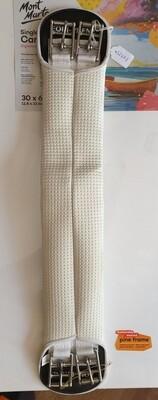 White Girth Strap