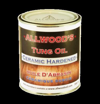 Allwood's Ceramic Hardened Finish
