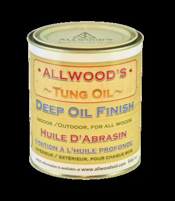 Allwood's Deep Oil Finish