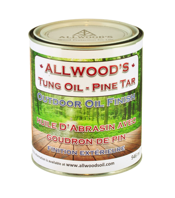 Allwood's Outdoor Finish