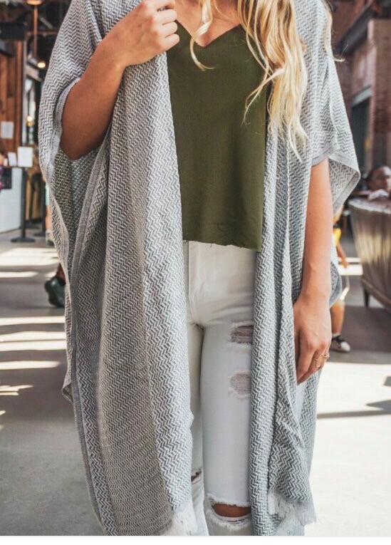 Mandalina Long Kimono