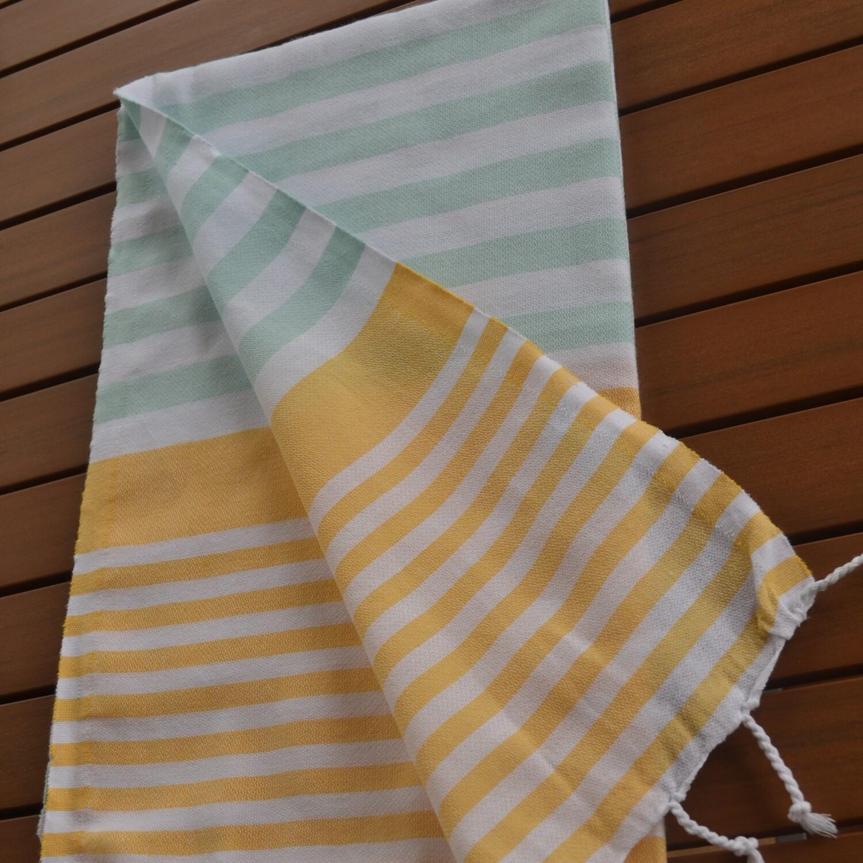 Mandalina - Coastal Stripes- Bath Size (Click to see all color options)
