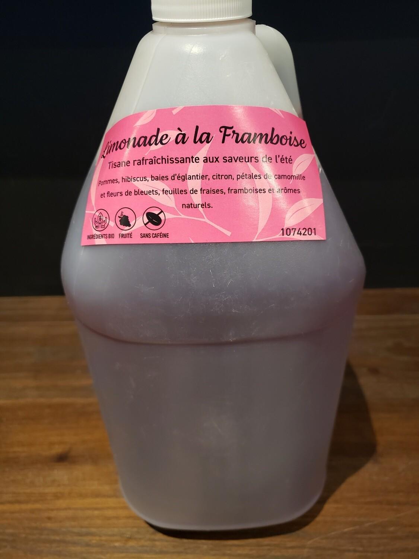 Concentré de tisane Limonade à la framboise Livraison locale Sherbrooke et Gatineau seulement