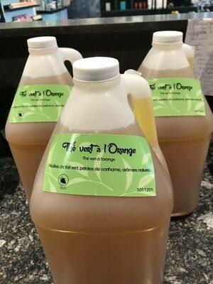 Concentré de thé vert à l'orange