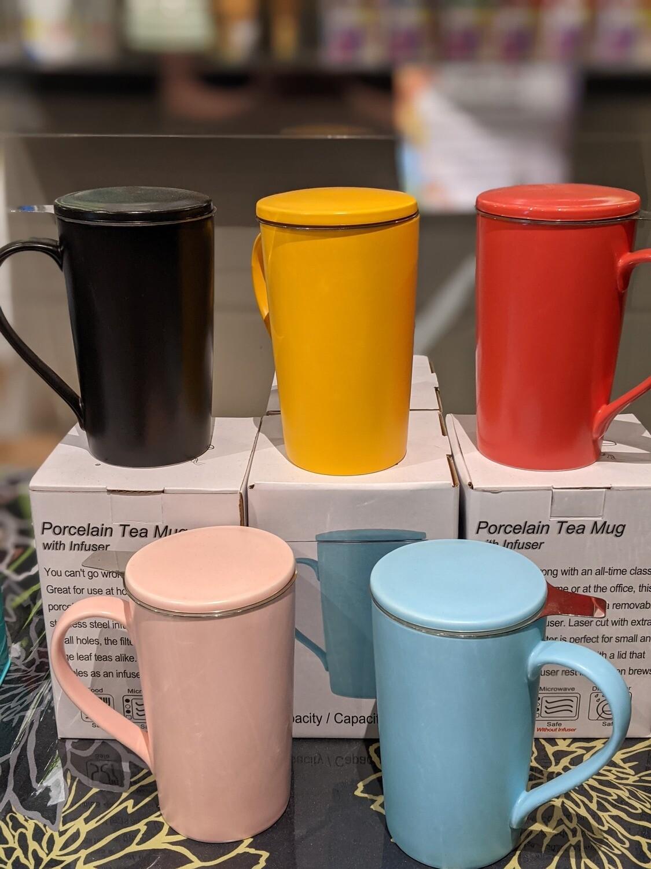 Tasse en céramique avec infuseur