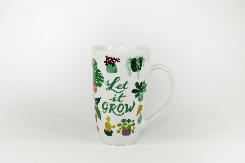 """Tasse """"Let it Grow"""""""