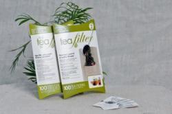 Filtre à thé en papier naturel