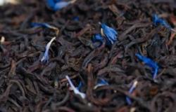 Thé noir aux bleuets