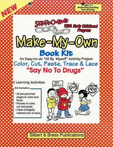 Book Kit - Say No to Drugs. Children love making their own book!