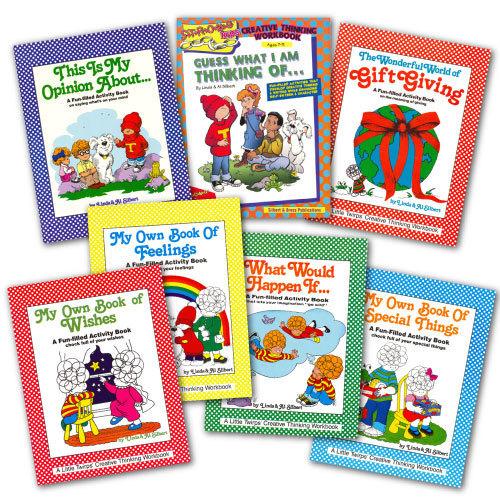 SPECIAL-7 Creative Thinking Workbooks-Grades K-6-SAVE $10