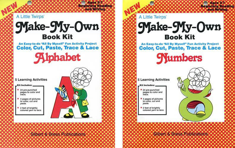 SPECIAL-Alphabet and Numbers Book Kits-SAVE $10