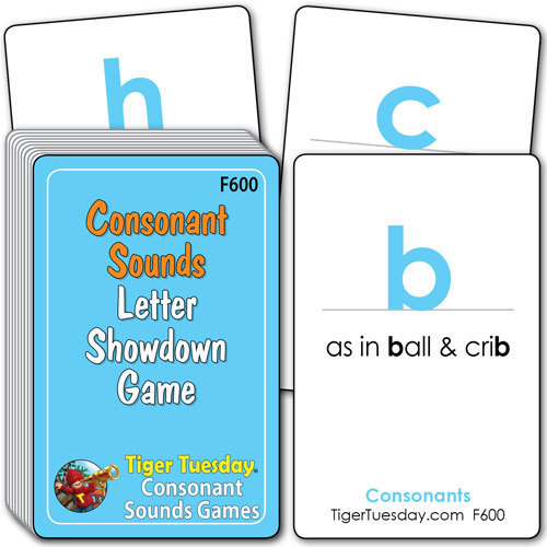Flashcards/Consonant Showdown Game - Consonant Sounds