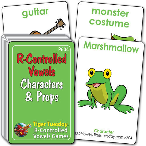 Characters & Props - R-Controlled Vowels