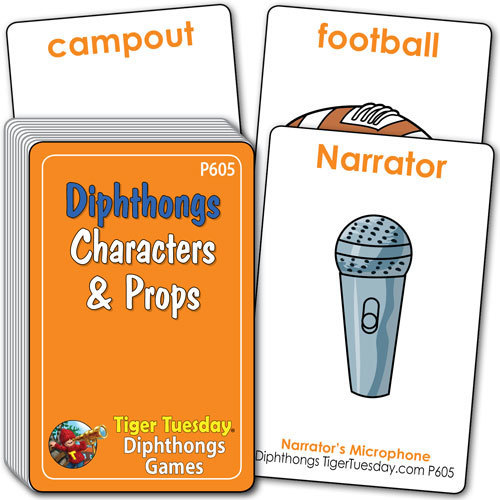 Characters & Props - Diphthongs