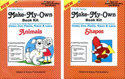 Book Kits SPECIAL - Animals and Shapes - Buy 1, Get 1 FREE! (titles 316 and 317)