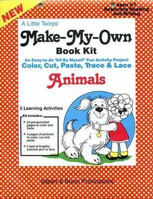 Book Kit - Animals. Children love making their own book!
