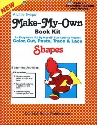 Book Kit - Shapes. Children love making their own book!
