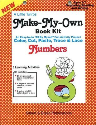 Book Kit - Numbers. Children love making their own book!