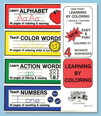 Learning By Coloring (4 book set)