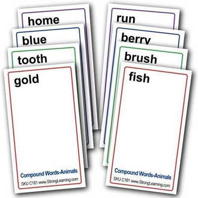 Compound Words 4-in-1 Card Games -- Four Game Set