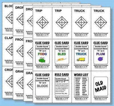 Phonics Games - Double - Sound Consonant Blends with L or R
