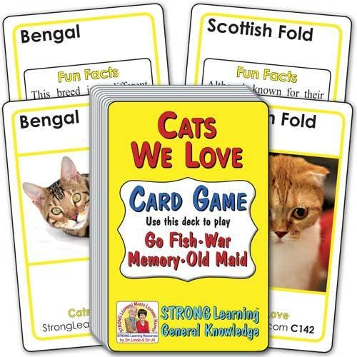 Cats We Love Card Game