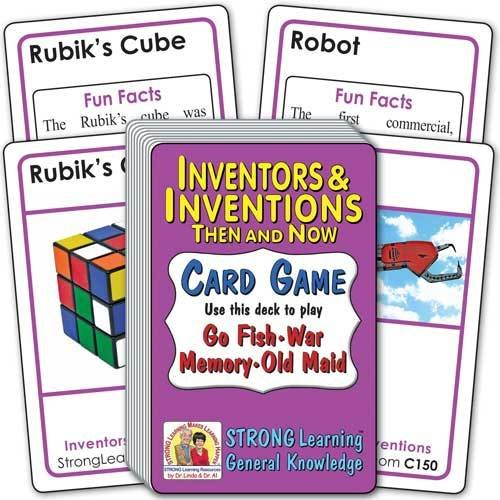 Inventors & Inventions: Then and Now Card Game