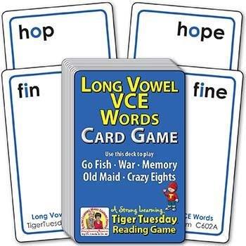 Long Vowel VCE Words | Ages 6-7+