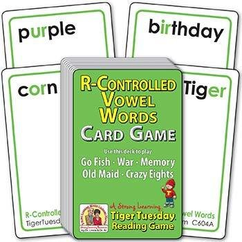 R-Controlled Vowel Words | Ages 7-8+