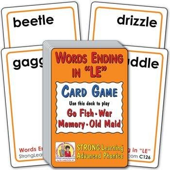 """Words Ending in """"LE"""" 
