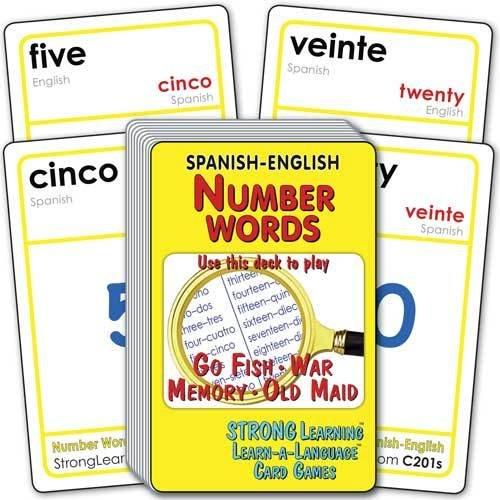 Number Words-Spanish/English