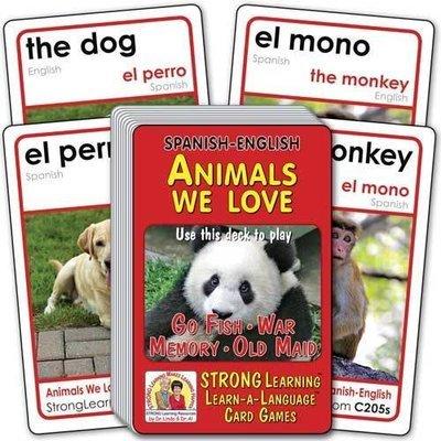 Animals We Love-Spanish/English
