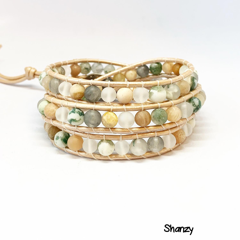 New you Wrap Bracelet