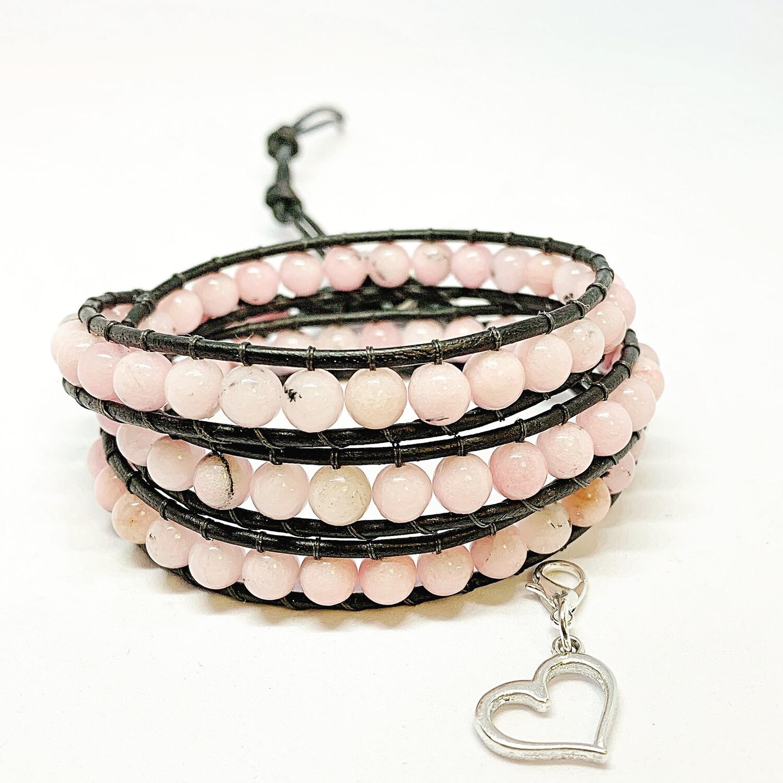 Cherry Blossom Wrap Bracelet