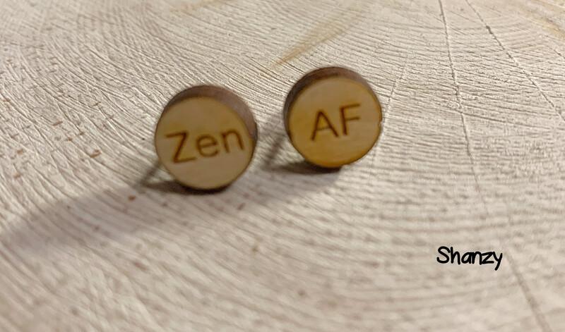 Zen AF Wood Earrings