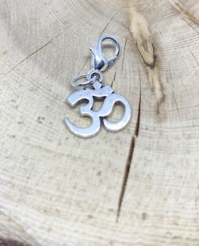 OM Symbol Charm Bracelet