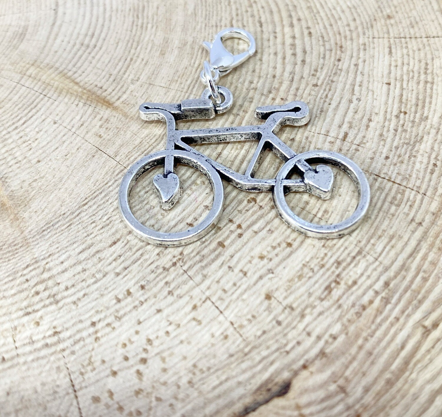 Bike Charm With Heart
