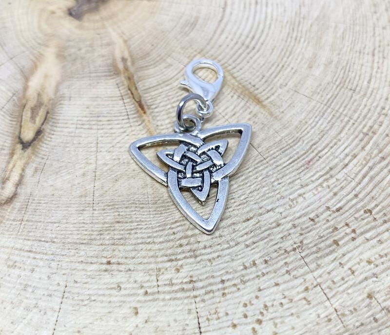 Celtic Triangle Charm