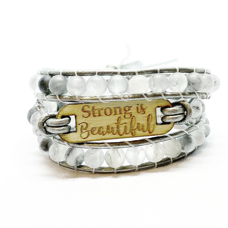 Quartz Beautiful Wrap Bracelet