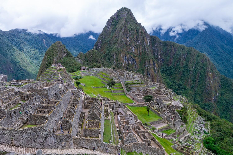 Machu Picchu Canvas Print and Lindt Chocolate Truffles