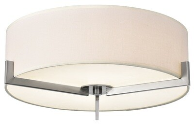Zaira - DC6 Series - Dual shaded, round LED surface mount light - 2 sizes