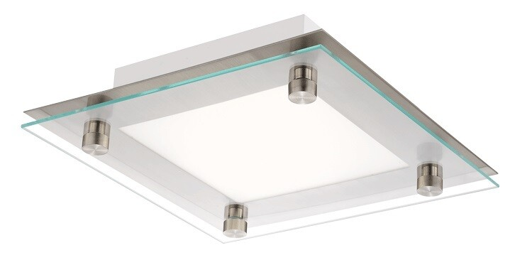 Freeport Square -  LED Ceiling Fixture