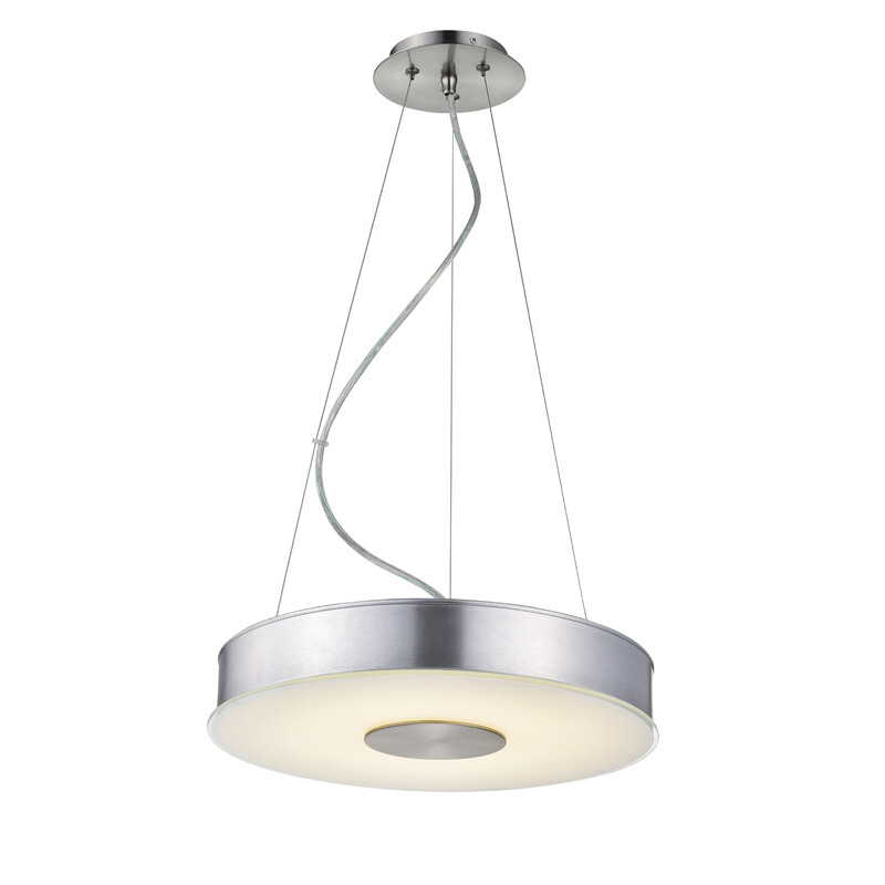 DC22 -Tanya Pendant-Fiber linen shaded, LED pendant - 2 sizes