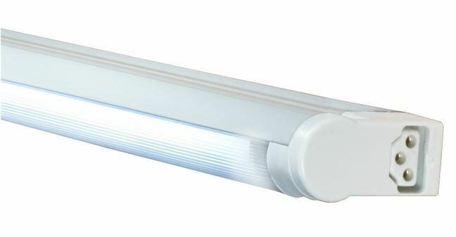 SGA - Ultra-slim T5 fluorescent strip with adjustable shield