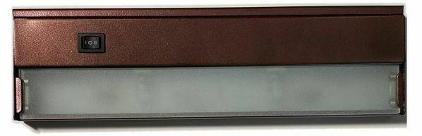 XN3B - 54 watt xenon under cabinet light - bronze
