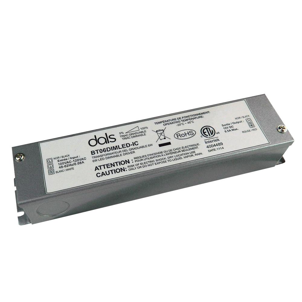 BT6LEDDIM-IC  - 6W 12V DC power supply - Dimmable