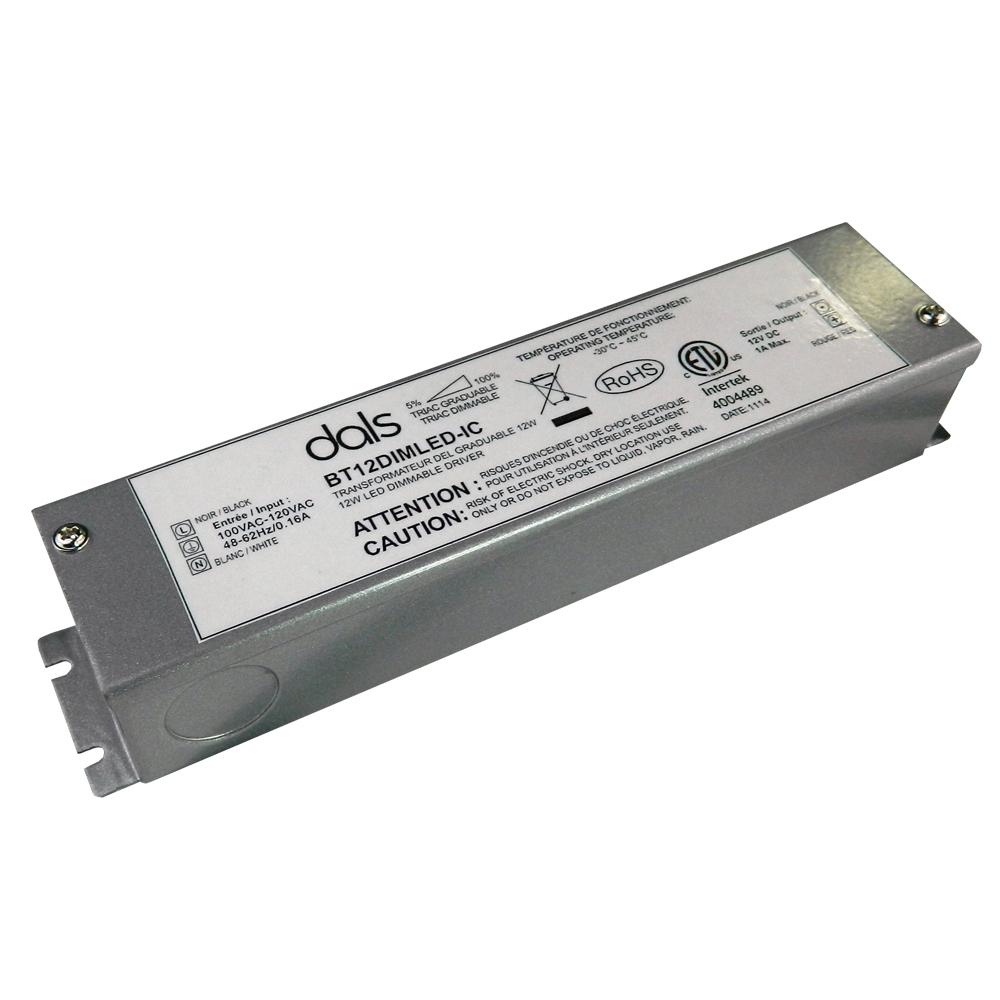 BT12DIMLED-IC  - 12W 12V DC Dimmable power supply