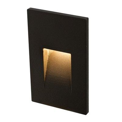 LEDSTEP002 - Recessed vertical LED step light in Black, White, Bronze or Silver Grey