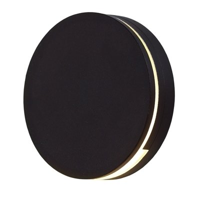 LEDSTEP004 - Round LED Step Light in Black, White, Bronze or Silver Grey